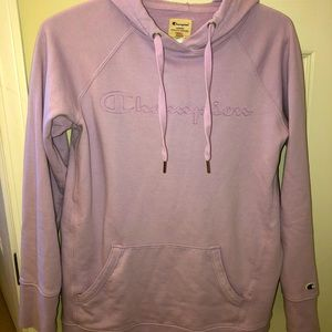 Pink/Lilac Purple CHAMPIONS hoodie